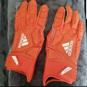 Adidas FREAK Football Gloves. Orange Size XL NEW